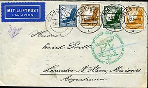LZ127-SI-286-ABB-ONBOARD-POSTMARK-MI-536-1934-COVER-TO-ARGENTINA-BN5649