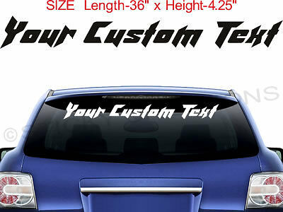 #1029 CUSTOM LETTERING Vinyl Letters Customized Decal Sticker Fancy Font Dynamic