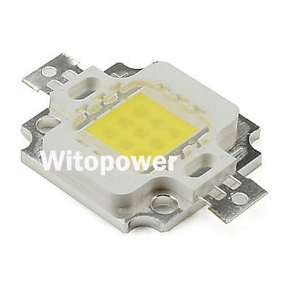 10x 10W LED Cool Warm White High Power 1000LM LED Lamp Bulb Chip SuperBright Lot