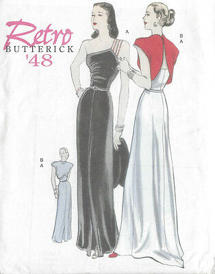 1948 Vintage Sewing Pattern B36-38 -40-42 DRESS & JACKET  (R811)