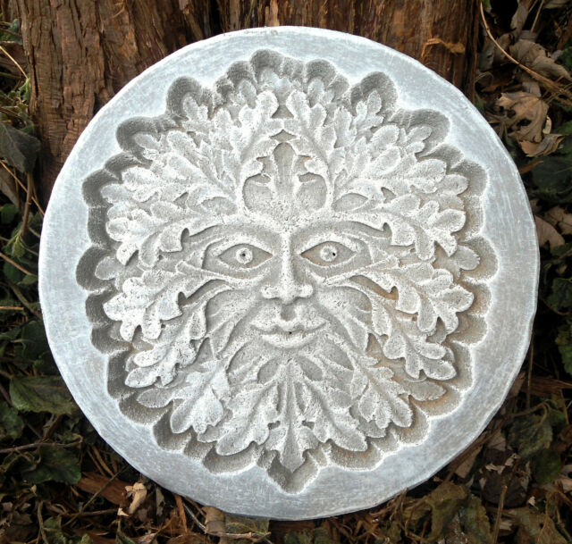 gostatue recessed greenman plaque plastic mold see more face molds in my store