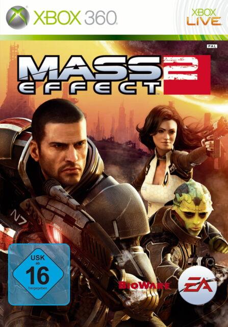 Mass Effect 2 (Microsoft Xbox 360, 2010, DVD-Box)