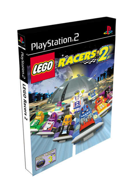 LEGO Racers 2 (Sony PlayStation 2, 2001, DVD-Box)