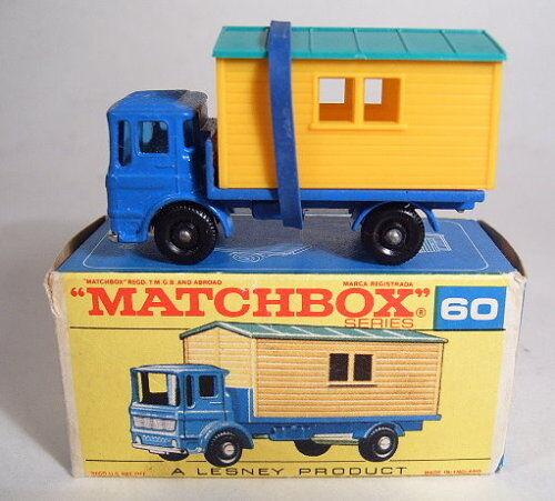 MATCHBOX rw 60b site château camion camion camion complètement dans  F  BOX e56bac