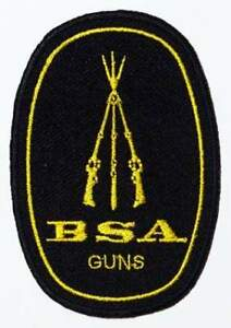 BSA-Birmingham-Small-Arms-Embroidered-Patch-NEW