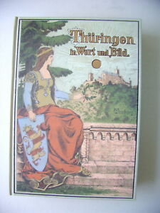 Thüringen in Wort und Bild Reprint 1900/1998 - Eggenstein-Leopoldshafen, Deutschland - Thüringen in Wort und Bild Reprint 1900/1998 - Eggenstein-Leopoldshafen, Deutschland