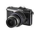Olympus PEN E-P2 12.3MP Digital SLR Camera - Black (Kit w/ 17mm Lens)