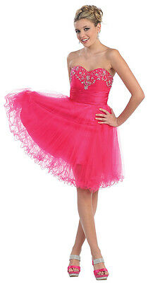 NEW SHORT PROM PARTY CUTE SEMI FORMAL COCKTAIL CRUISE FLIRTY DRESSES & PLUS SIZE