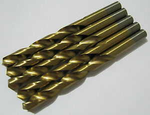 RDGTOOLS-5PC-12-5MM-HSS-FULLY-GROUND-ENGINEERS-DRILLS
