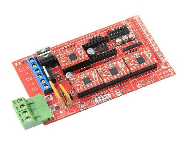 Geeetech New RAMPS 1.4 shield RepRap Arduino Mega Pololu A4988 driver PCB Kits