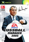 Fußball Manager 2005 (Microsoft Xbox, 2004, DVD-Box)