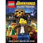 LEGO: The Adventures of Clutch Powers (DVD, 2010)