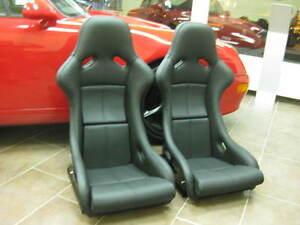 Porsche-911-964-993-RS-SEATS-SPORT-SEATS-Turbos-Sport-NGT-m002-m003-Leather-Black