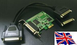 PCI-Express-PCIe-Parallel-x2-Card-ECP-EPP-SPP-LPT-PCI-e-2-Port-LP-Low-Profile