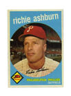 1959 Topps Richie Ashburn Philadelphia Phillies #300 Baseball Card