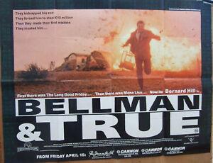 Bernard-Hill-BELLMAN-AND-TRUE-1987-Original-poster