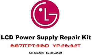 LG-Power-Supply-Repair-Kit-6871TPT316D-YP2632T