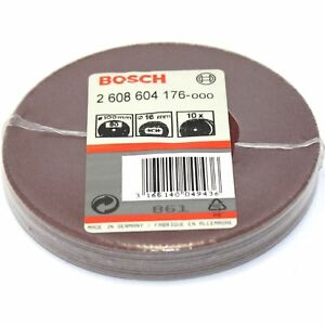 20-BOSCH-FIBRE-SANDING-DISCS-100MM-80G-FOR-4-034-ANGLE-GRINDER-MADE-IN-GERMANY