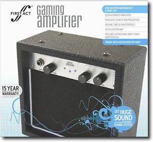 first act gaming guitar amplifier new in box wholesale. Black Bedroom Furniture Sets. Home Design Ideas