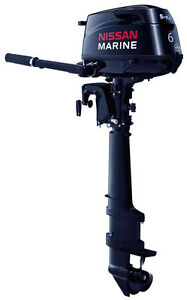 6hp Nissan Tohatsu 4 Stroke Outboard Motor 25 Quot Extra Long