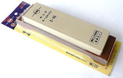Japanese water stone sharpening whetstone King S-45P 4000 toishi knife sharpener