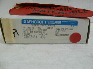 NEW-ASHCROFT-3TA37484-458-METRIC-CASE-GAUGE-60-PSI