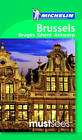 Brussels, Ghent, Antwerp & Bruges Must Sees Guide by Michelin (Paperback, 2012)