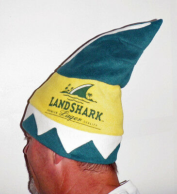 LandShark Lager Holiday Custom Fin Fleece Hat Brand New in Bag Free Shipping