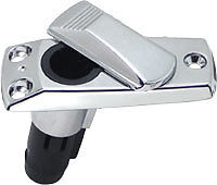 BOAT-STERN-LIGHT-BASE-CHROME-PLATED-FITS-2-PRONG-STERN-LIGHTS