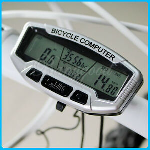 Digital-Bicycle-LCD-Computer-Odometer-Speedometer-SD558A-Mountain-Road-Bike