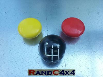 Land Rover Series 3 Gear, Transfer & 4 Wheel Drive Selector Stick Knob Set