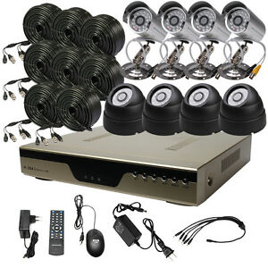 8-CH-Channel-CCTV-DVR-Home-Security-Recorder-System-4x-IR-Indoor-Outdoor-Camera