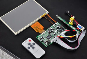 SAMSUNG-7-034-LED-LCD-Sunlight-TouchPanel-w-Control-Board