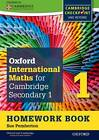 Complete Mathematics for Cambridge Secondary 1 Homework Book 1 (Pack of 15): For Cambridge Checkpoint and beyond by Sue Pemberton (Paperback, 2012)