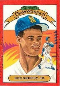 Donruss Diamind Kings 1990 Ken Griffey Jr Seattle Mariners 4 Baseball Card
