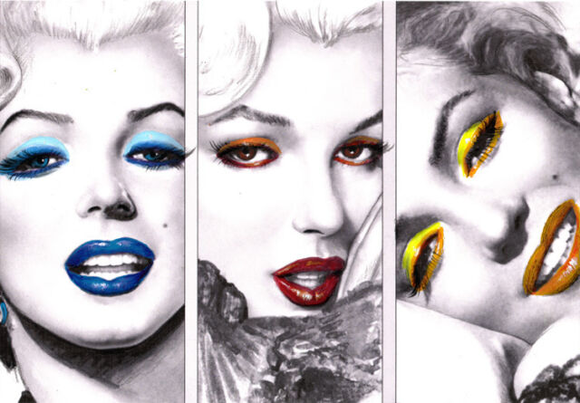 Marilyn Monroe Iron On T Shirt Transfer Style MM02