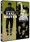 Taxi Driver/Casino/Mean Streets (DVD, 2008, 3-Disc Set, Box Set)