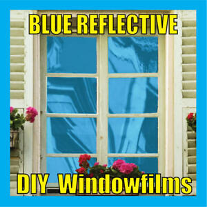 BLUE-SOLAR-REFLECTIVE-ONE-WAY-MIRROR-WINDOW-FILM-TINT