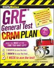 CliffsNotes GRE General Test Cram Plan by Jane R. Burstein, Carolyn C. Wheater, Catherine McMenamin (Paperback, 2011)