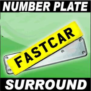 Metal Motorcycle Number Plates