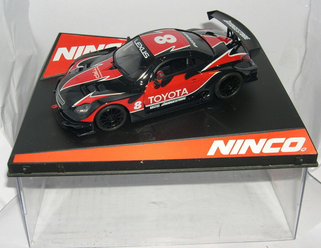 NINCO SLOT CAR LEXUS SC 430  8 ONLY IN SETS MB