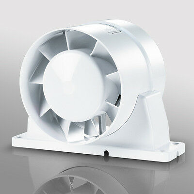 """IN LINE DUCT EXTRACTOR FAN HYDROPONICS 125 mm 5"""""""