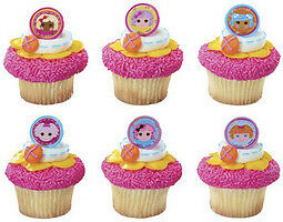 TOPPER-FAVORS-CAKE-CUPCAKE-RINGS-LALALOOPSY-DOLL-PARTY-BIRTHDAY-SUPPLIES-12