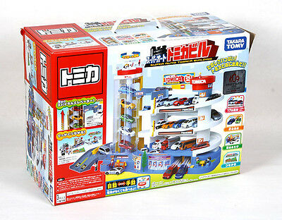 JAPAN TOMICA TOWN SCENE SUPER AUTO BUILDING - CAN COMBINE MOUNTAIN/HIGHWAY SET