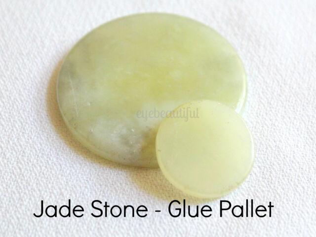 Jade Stone Glue Pallet - Keeps Glue Cool During Eyelash Extension Application