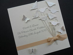 Image Is Loading Personalised Handmade Wedding Marriage Engagement Congratulation Acceptance Card