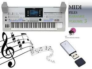MIDI-File-Karaoke-USB-stick-for-Tyros-4-Volume-3-NEW
