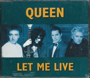 Queen-Let-Me-Live-PROMO-UK-Import-CD-Single