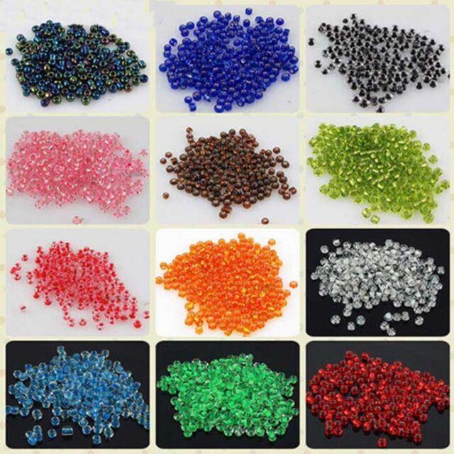 Jewelry Making 60 kinds 1000pcs 2mm Czech Glass Seed beads free shipping