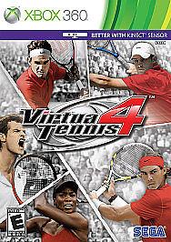 Virtua Tennis 4 Xbox 360 Game